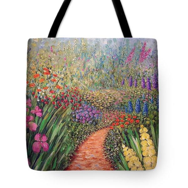 Flower Gar02den  Tote Bag