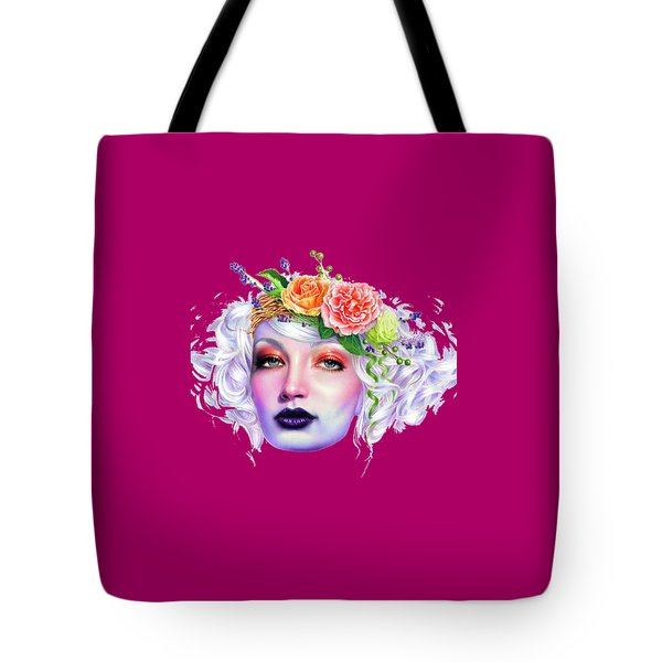 Flower Girl T-shirt Tote Bag