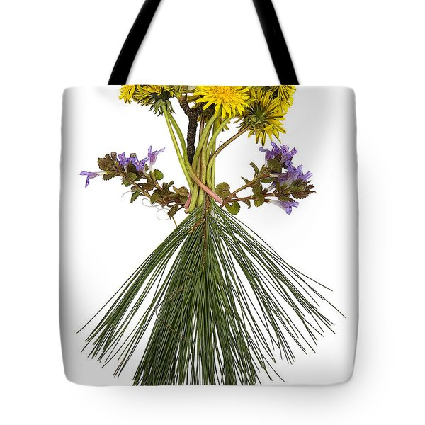 Flower Head Tote Bag