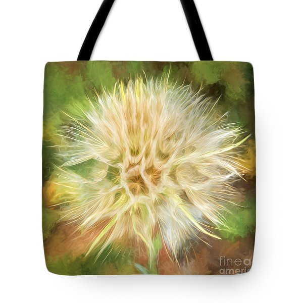 Flower Impressions Tote Bag by Sharon Seaward