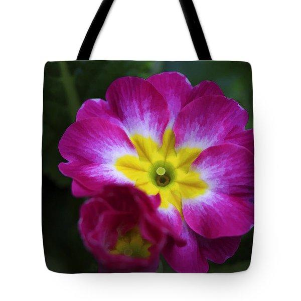 Flower In Spring Tote Bag by Deborah Benoit