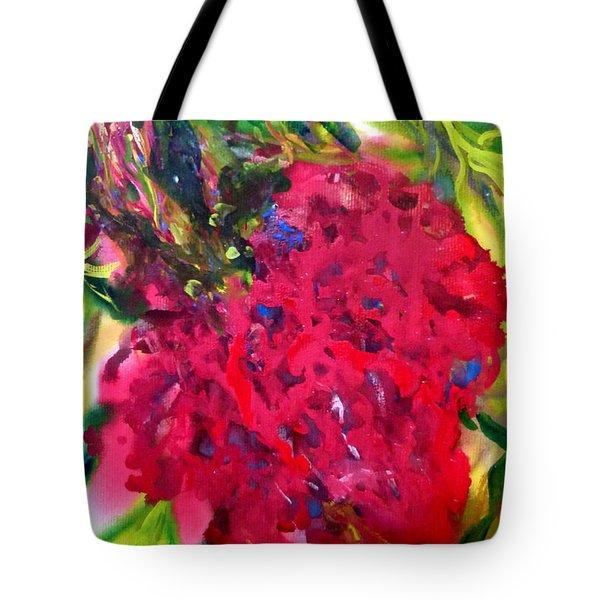 Flower In The Garden Tote Bag