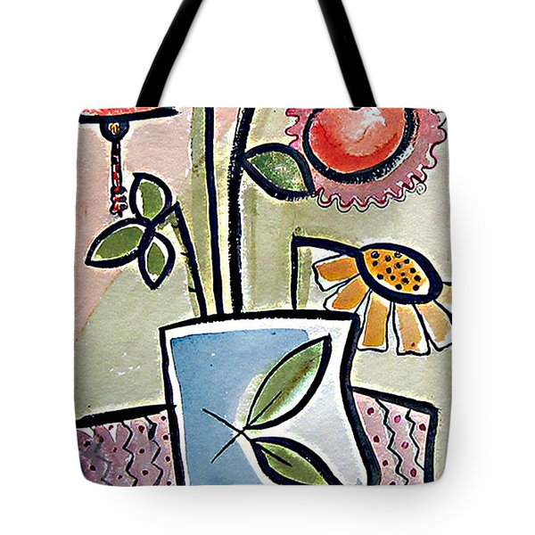 Flower Jug Tote Bag