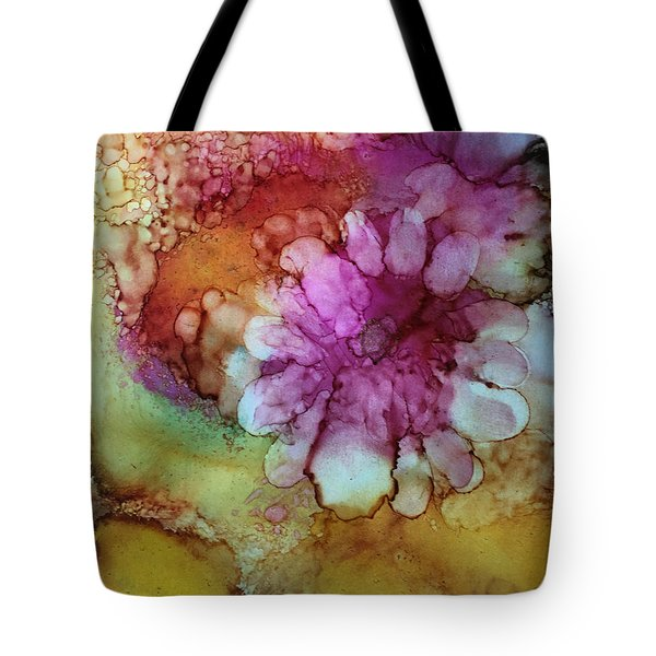 Flower Tote Bag by Karin Eisermann