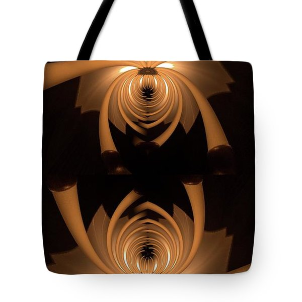 Flower Light Tote Bag by Ron Bissett
