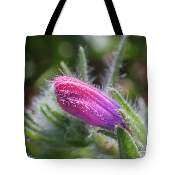 Flower-macro Tote Bag