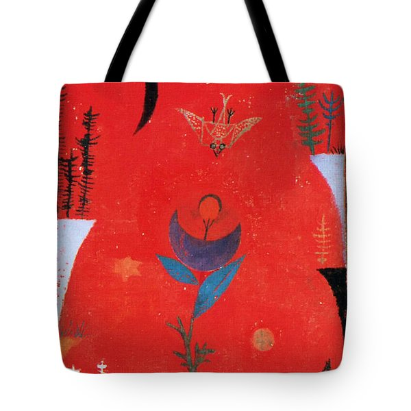 Flower Myth Tote Bag by Paul Klee