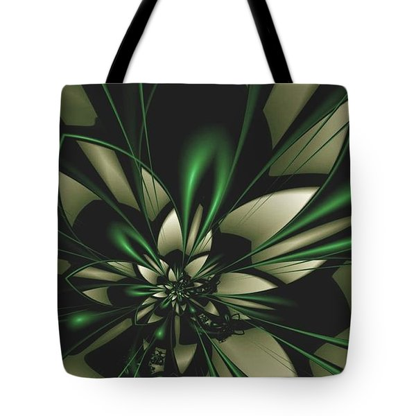 Flower Of Art Tote Bag by Sheila Mcdonald