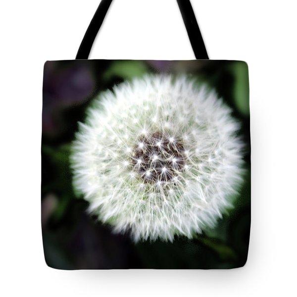 Flower Of Flash Tote Bag by Mark Ashkenazi