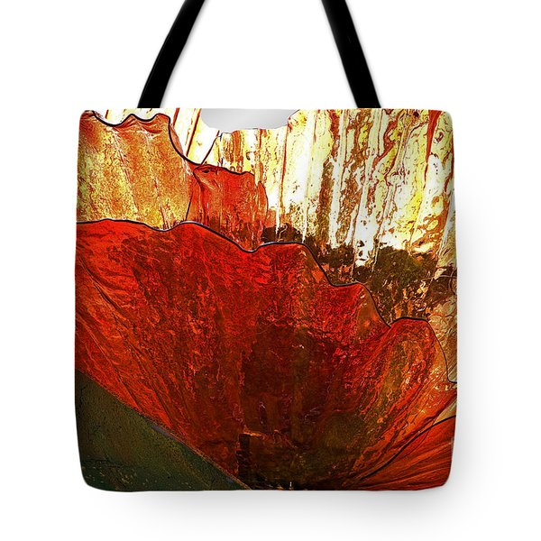 Flower Of Glass Tote Bag