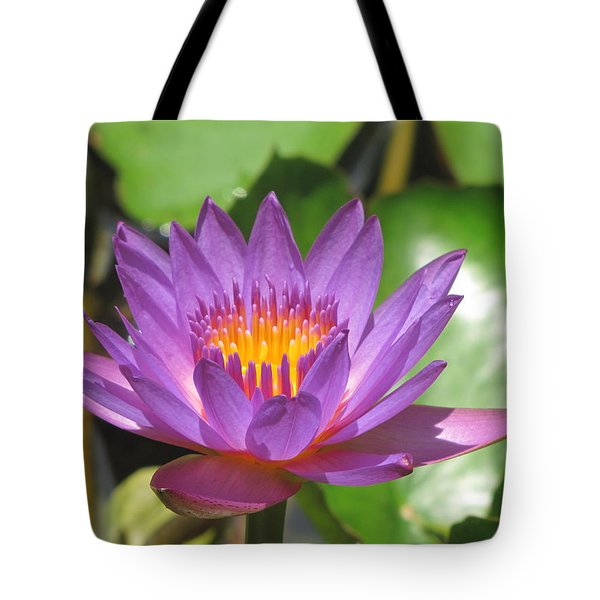 Flower Of The Lilly Tote Bag