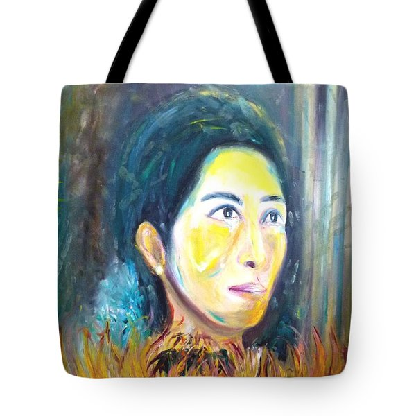 Flower Of Sun Tote Bag