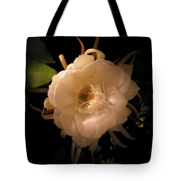 Flower Of The Night 01 Tote Bag by Andrea Jean