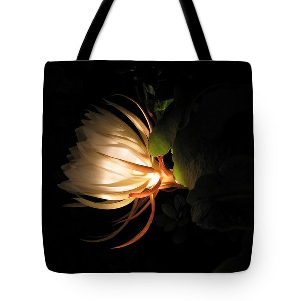 Flower Of The Night 03 Tote Bag by Andrea Jean