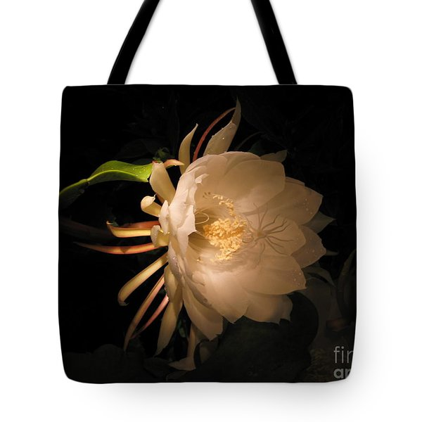 Flower Of The Night 04 Tote Bag by Andrea Jean