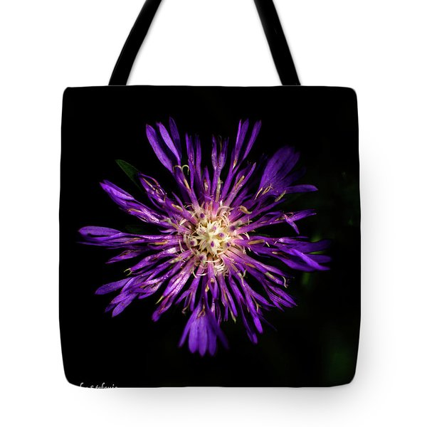 Flower Or Firework Tote Bag by Stefanie Silva