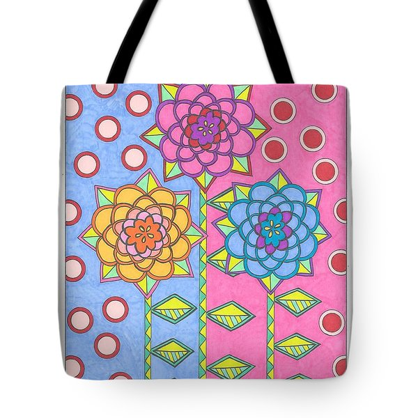 Flower Power 2 Tote Bag
