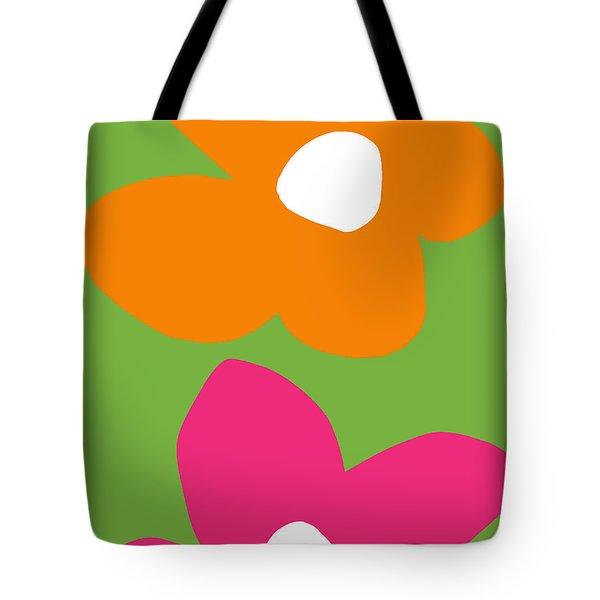 Flower Power 5- Art By Linda Woods Tote Bag