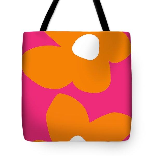 Flower Power 6- Art By Linda Woods Tote Bag