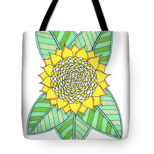 Flower Power 6 Tote Bag