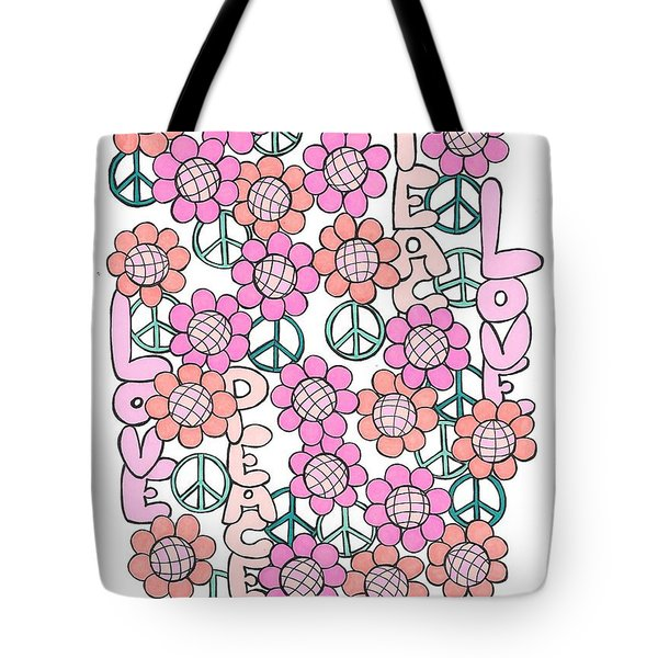 Flower Power 8 Tote Bag