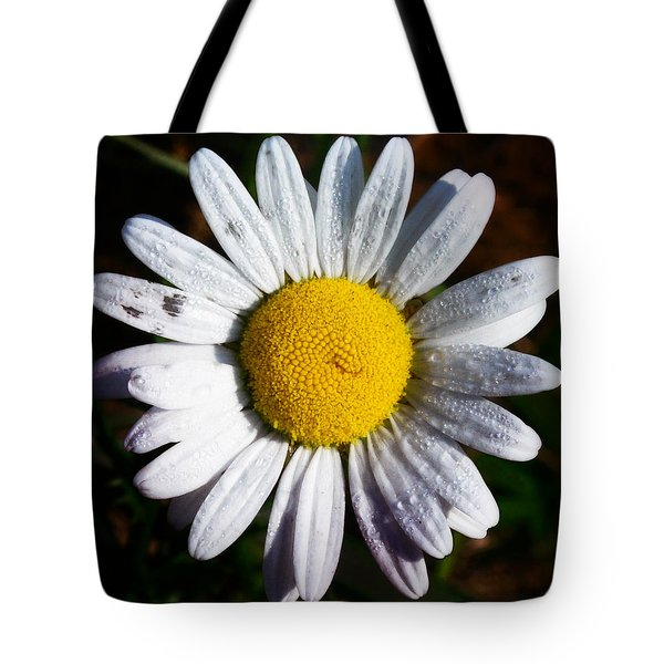 Flower Power Tote Bag by Bill Cannon