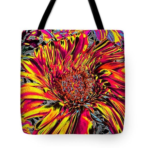 Flower Power II Tote Bag