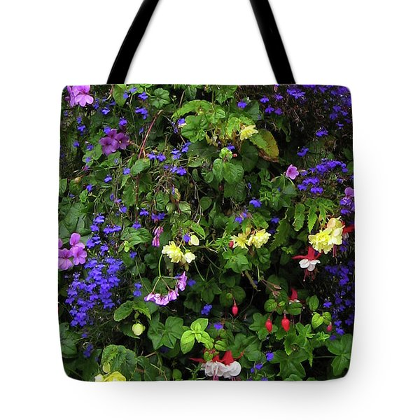 Flower Power Tote Bag by Kurt Van Wagner