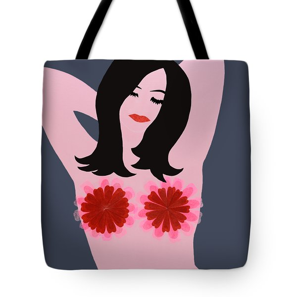 Flower Power - Pink Tote Bag