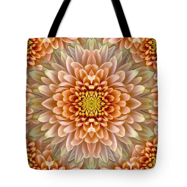 Flower Power Tote Bag by Sumit Mehndiratta