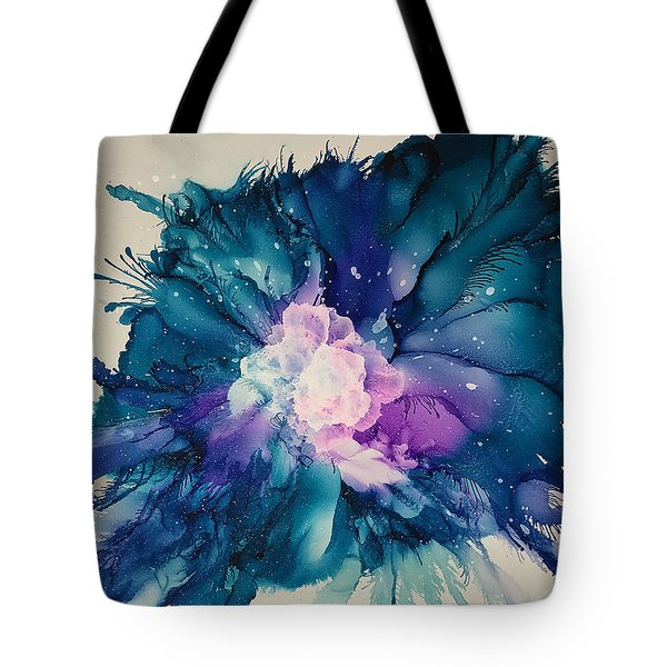Flower Power Tote Bag by Suzanne Canner