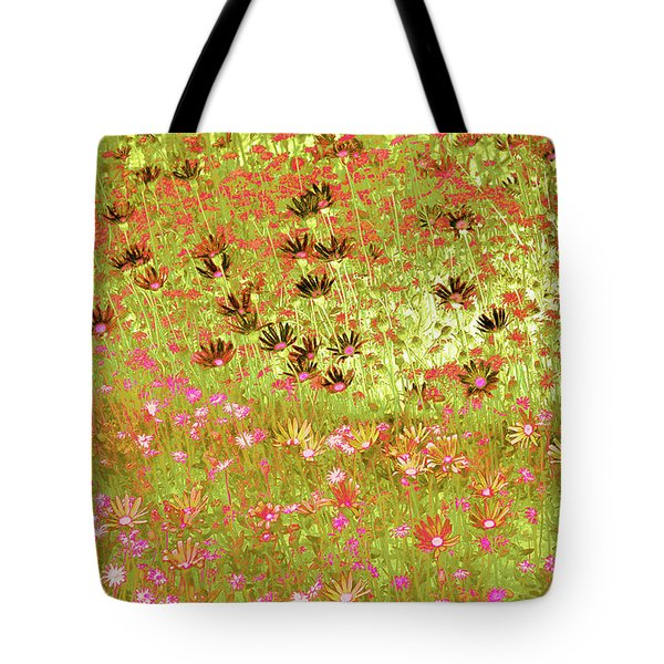 Flower Praise Tote Bag by Linde Townsend