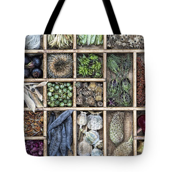 Flower Seeds Tote Bag