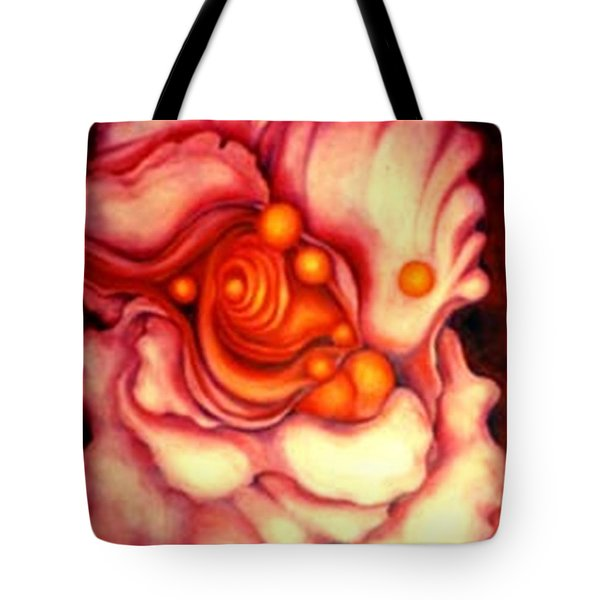 Flower Shell Tote Bag