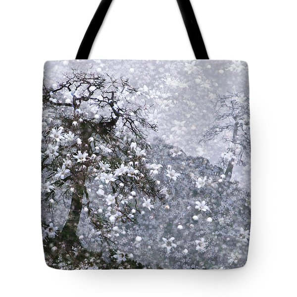 Flower Shower Tote Bag by Ed Hall