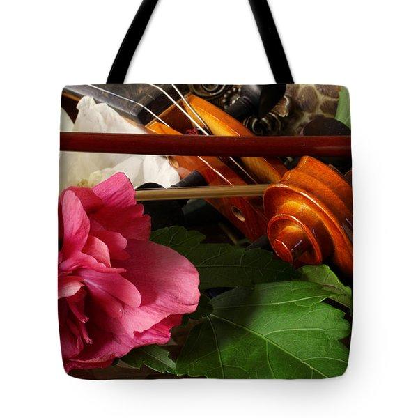 Flower Song Tote Bag