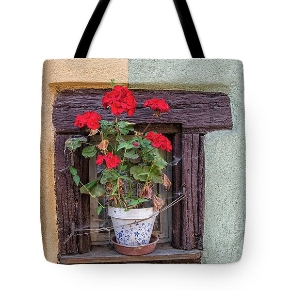 Tote Bag featuring the photograph Flower Still Life by Alan Toepfer