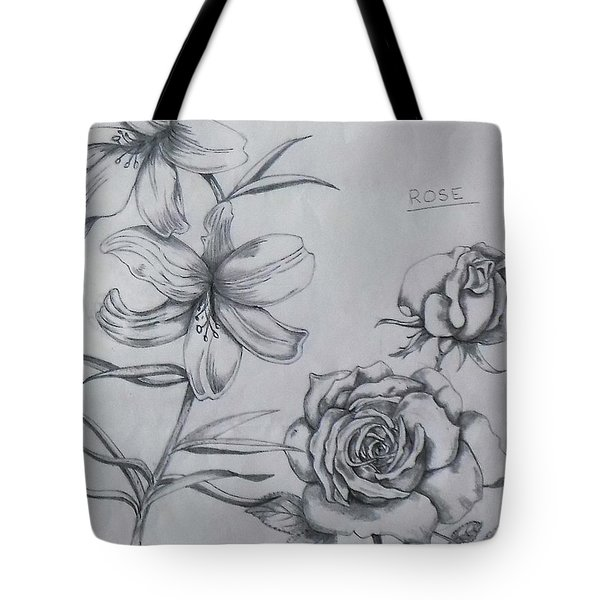 Flower Study 1 Tote Bag