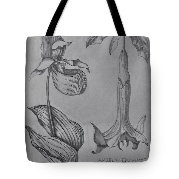 Flower Study 3 Tote Bag