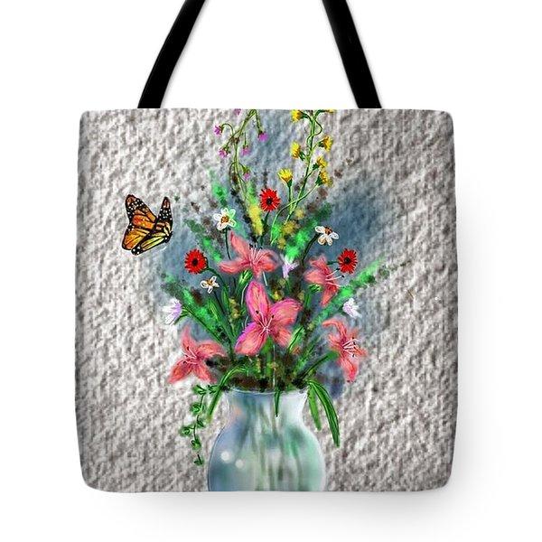 Flower Study Three Tote Bag