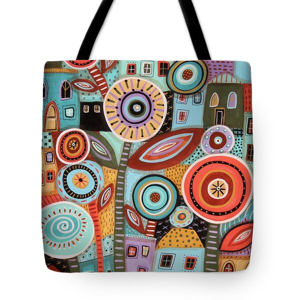 Flower Town1 Tote Bag