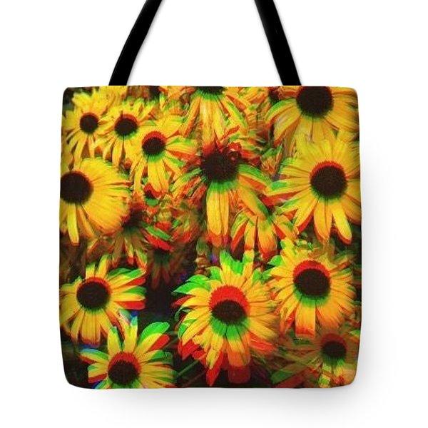 Flower Trip Tote Bag