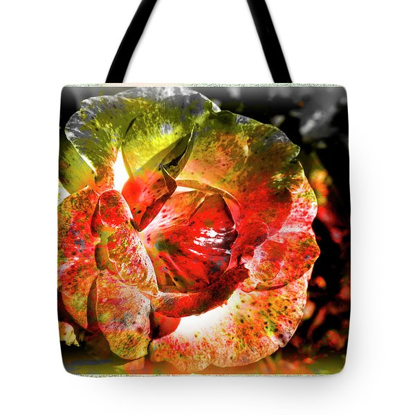 Flower Vector Tote Bag