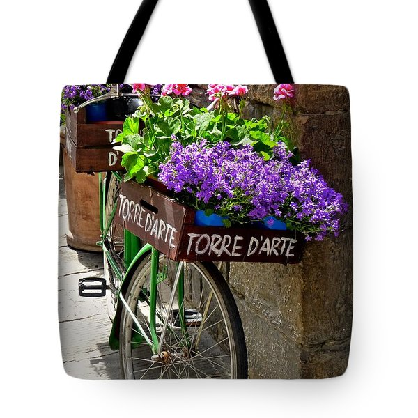 Flower Vendor  Florence Tote Bag