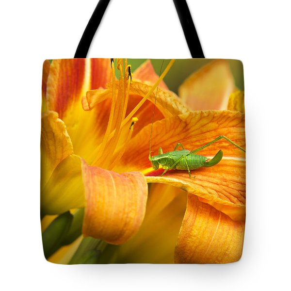 Flower With Company Tote Bag by Christina Rollo