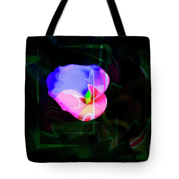 Tote Bag featuring the photograph Flower Wower by Al Bourassa