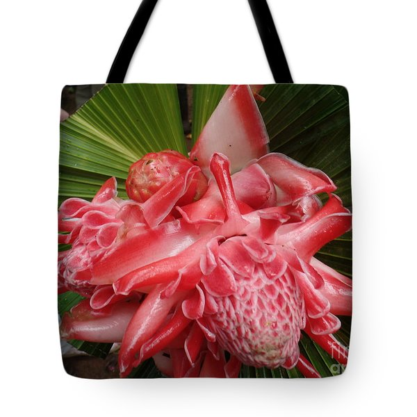 Flowering Coconiut Sao Tome Tote Bag
