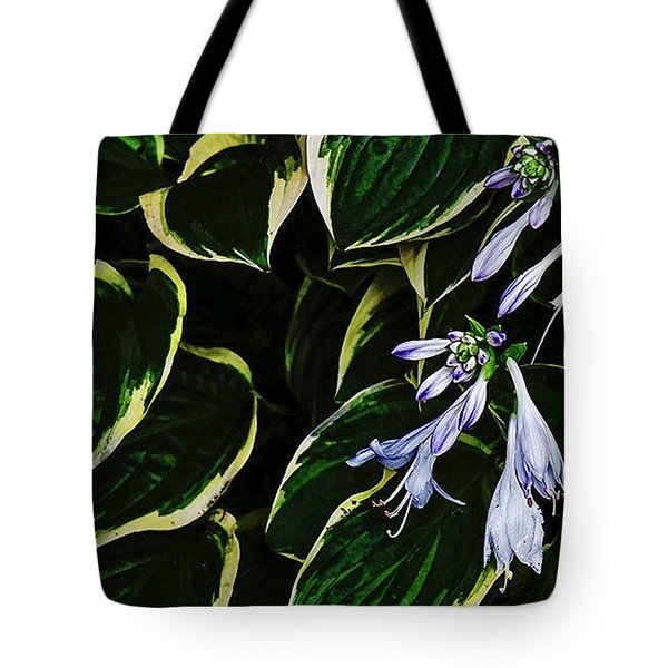 Flowering Hosta Tote Bag