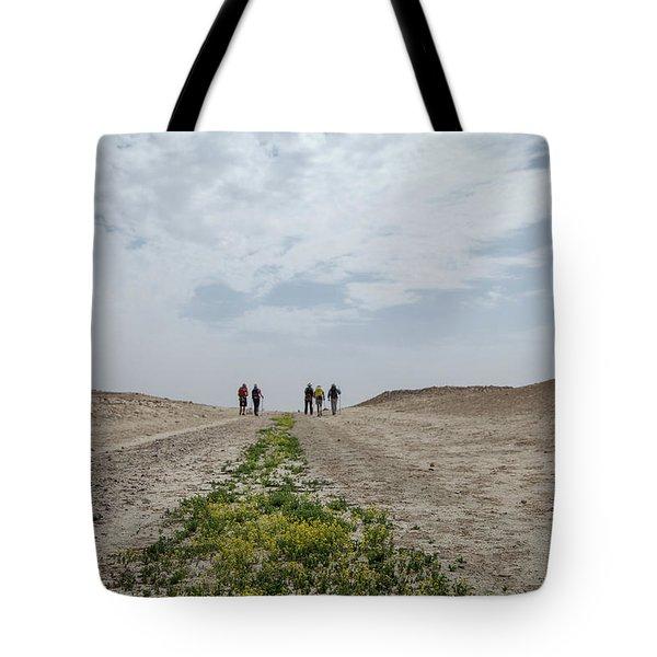 Flowering In The Desert Tote Bag by Yoel Koskas
