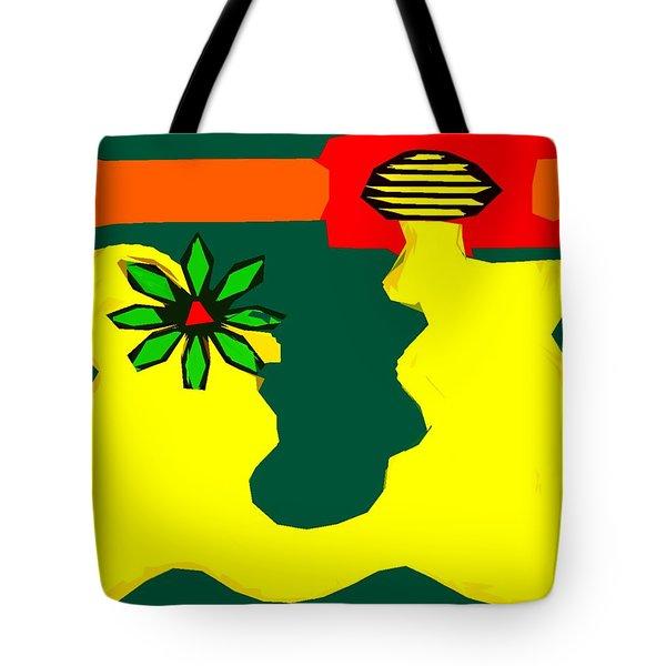 Flowering Melody 2 Tote Bag by Patrick J Murphy